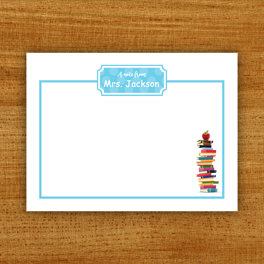 Teacher Gift Sticky Notes Template Preview