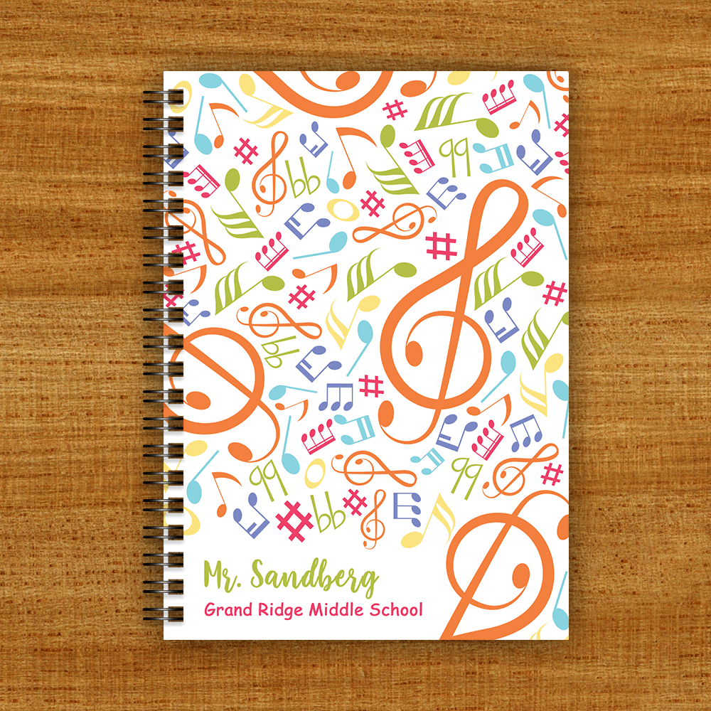 Teacher Gift Journals Front Cover