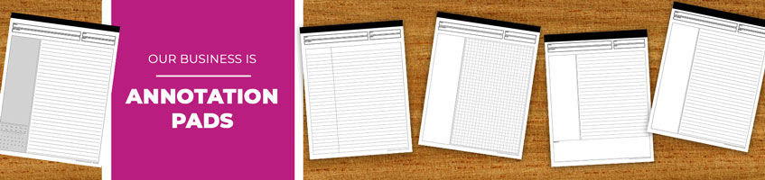 Custom Annotation Notepad Products