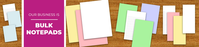 Lined & Blank Bulk Notepad Products