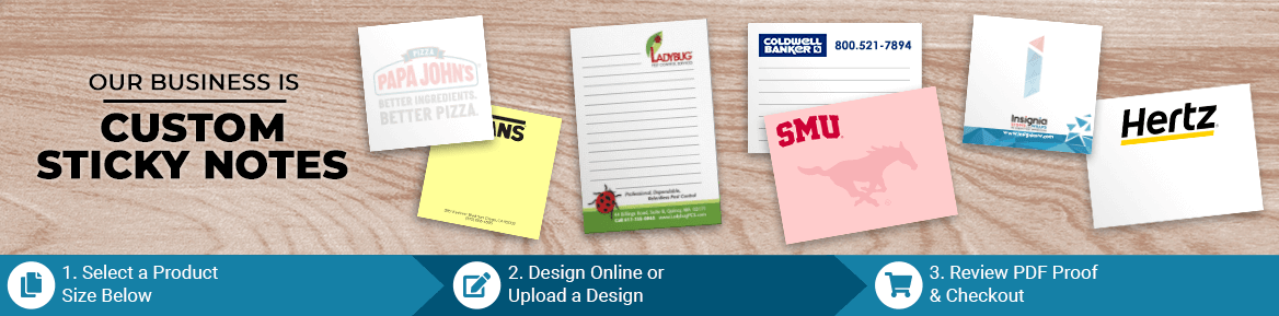 Custom Sticky Note Products