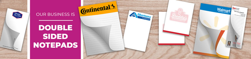 Custom Double Sided Notepad Products