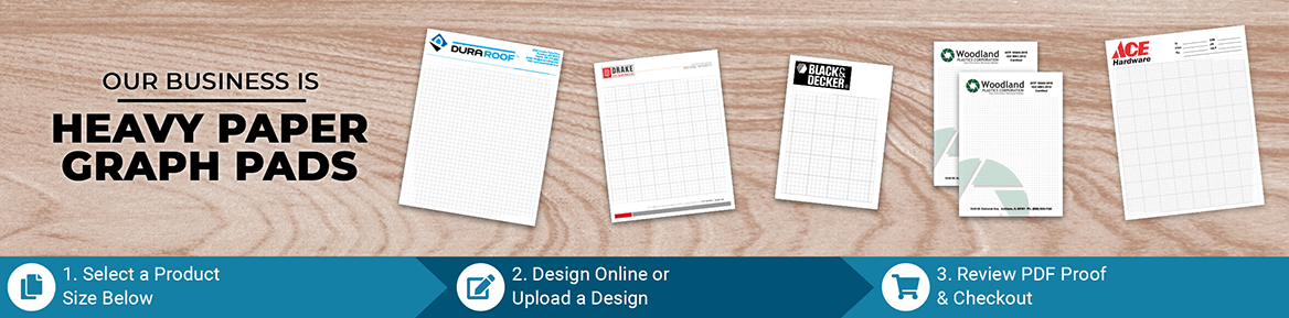 Custom Heavy Paper Graph Pad Products