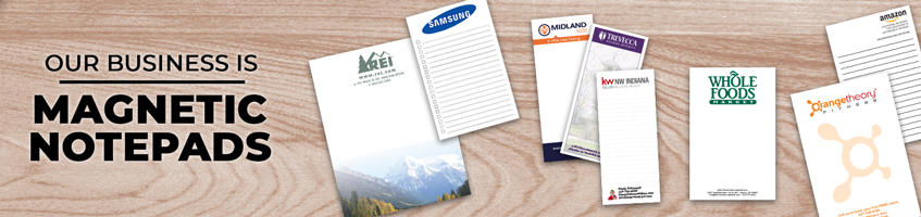 Custom Magnetic Notepad Products