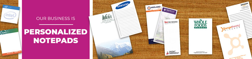 Personalized Notepad Products