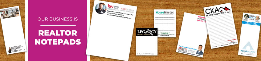 Custom Real Estate Realtor Notepad Products