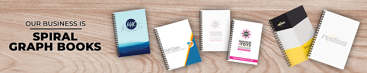 Custom Spiral Graph Book Products
