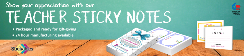 Teacher Gift Sticky Note Products