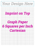 6 sq/in Cartesian