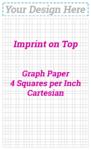 4 sq/in Cartesian