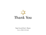 Gold Star of David-Inside Option 1