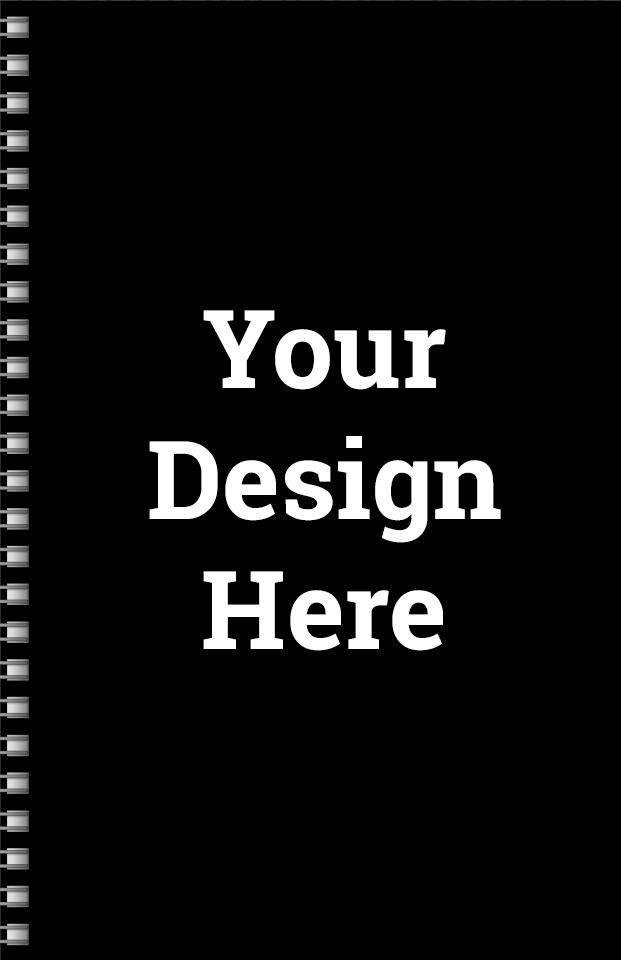 BIG Bridge Score Notepad 5.5 x 8.5 100 Sheets black