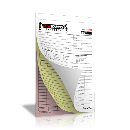 Towing Business Forms