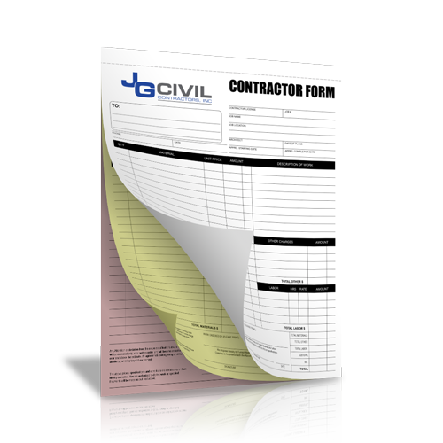 Contractor Business Form