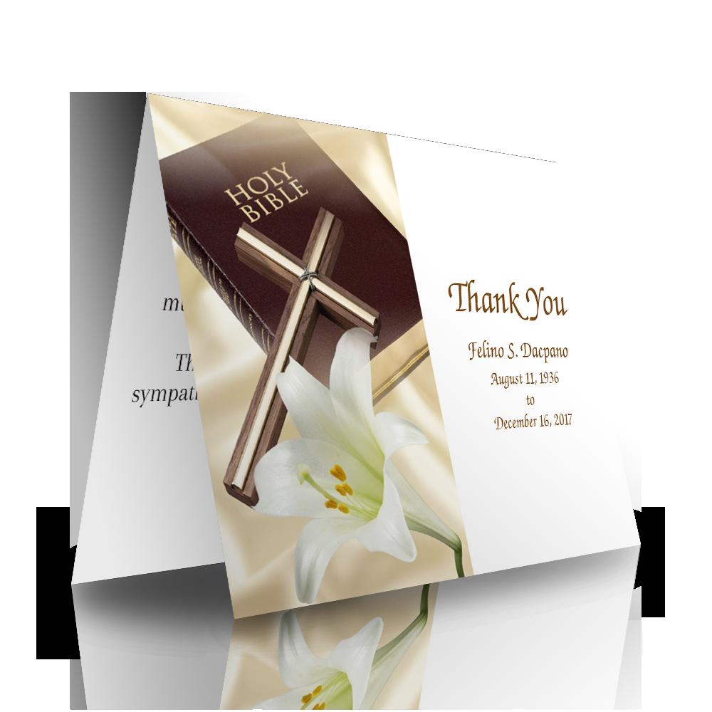 Bible Cross-Folded