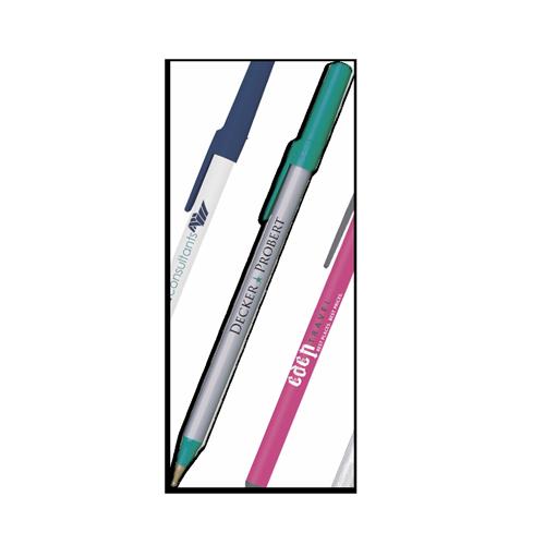 Custom Bic Stic Pens with Cap