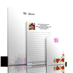 Personalized Sticky Notes