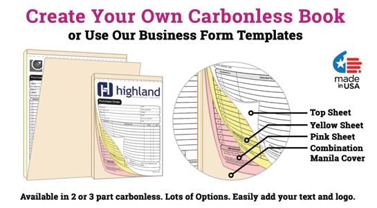 custom sales receipt book