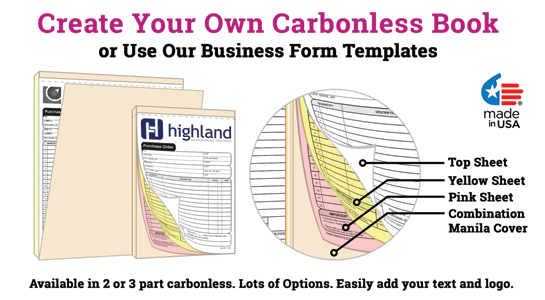create your own carbonless book