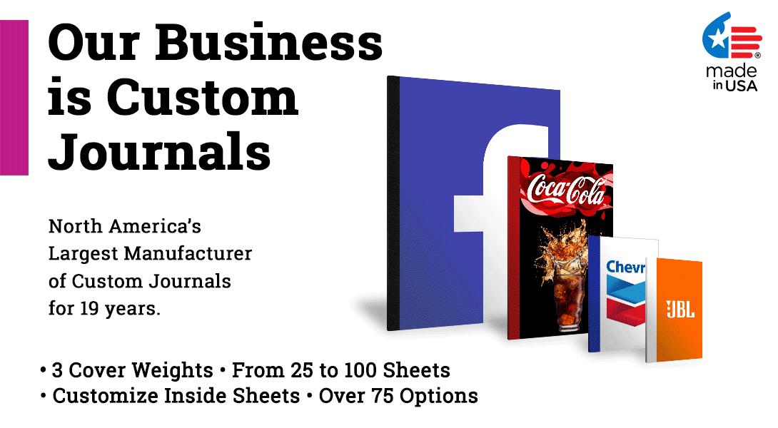 5 x 7 custom journals