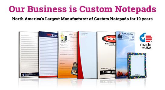 eco-friendly custom notepad