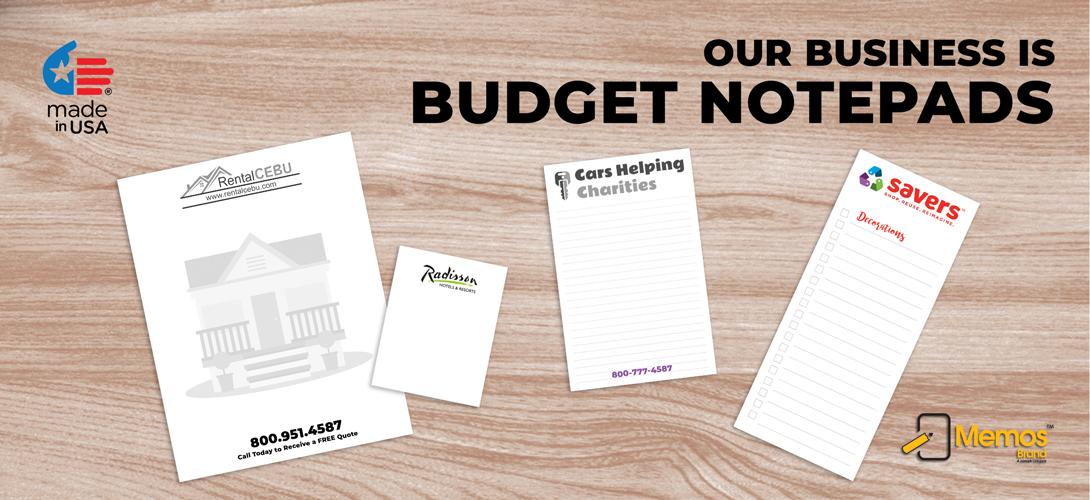 Budget Notepads