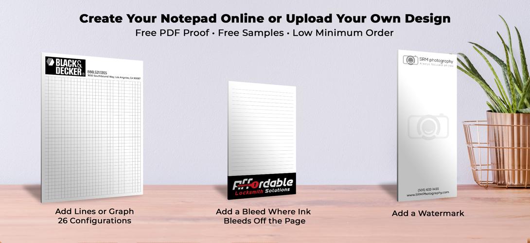 Cheap notepads