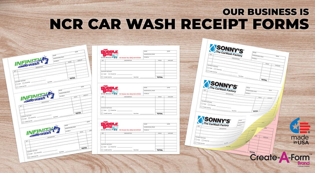 Car Wash Business Forms