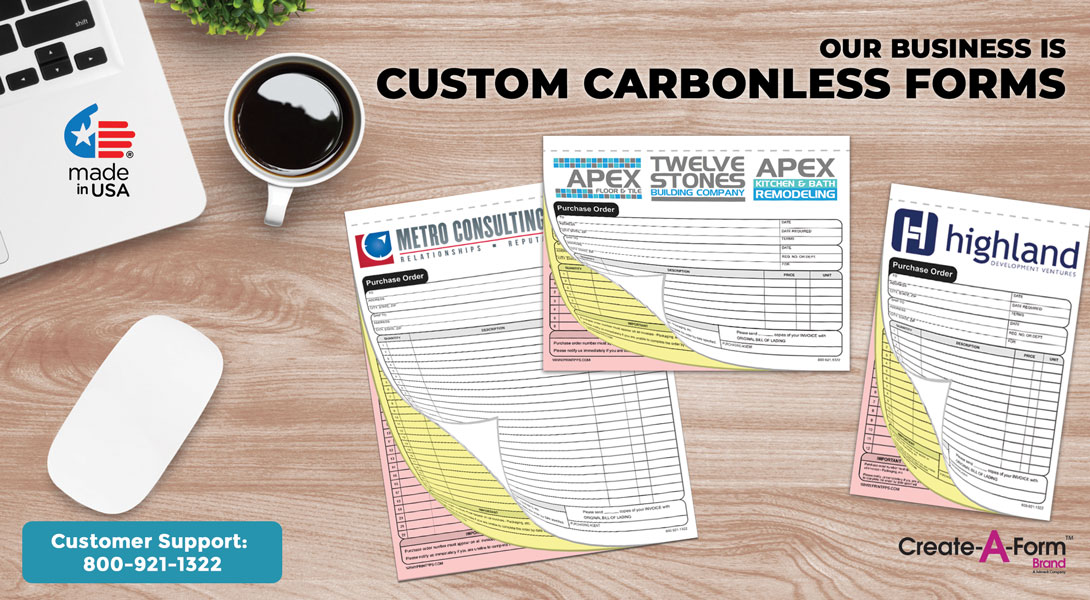 custom carbonless forms