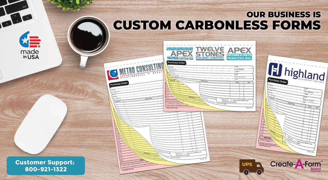 custom carbonless forms