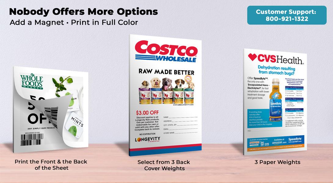 printable coupons pads