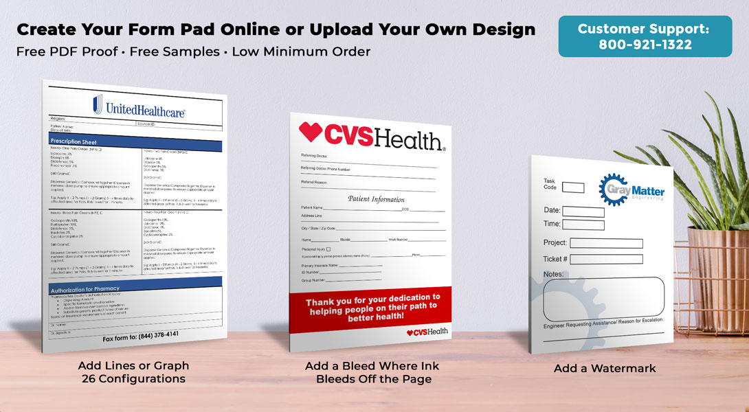 custom order forms online