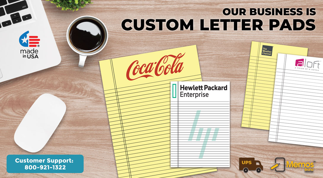 Personalized Letter Pads