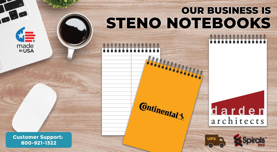 Custom Steno Books
