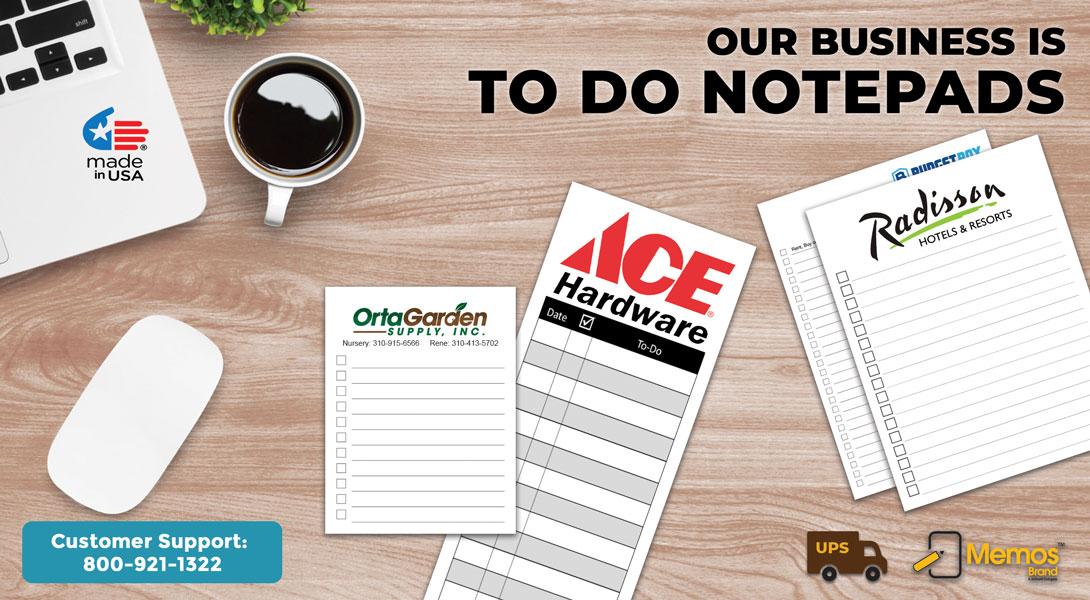 Custom Grocery List Notepads
