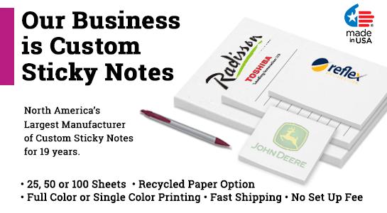 custom sticky note