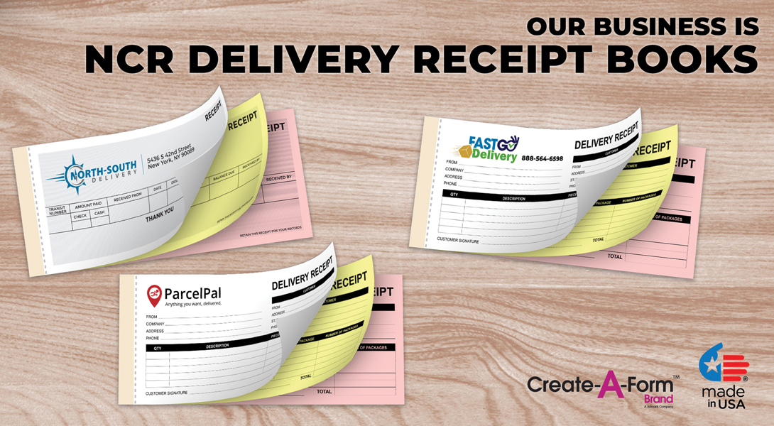 Delivery receipt pads