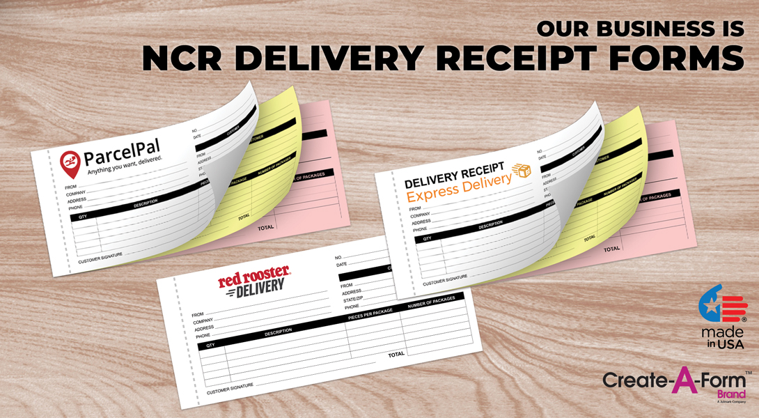 Delivery business forms
