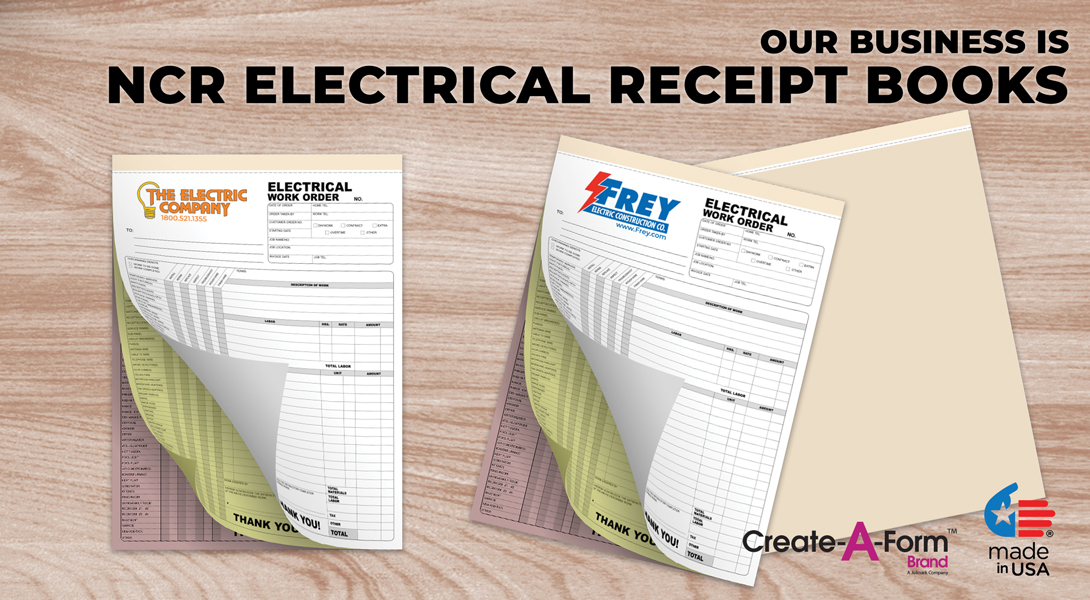 electric invoice books