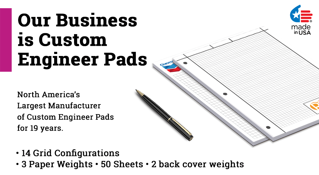 personalized engineer graph pads