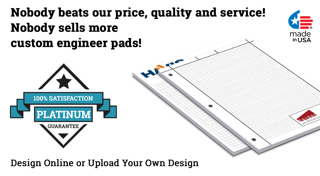 custom engineer graph pads