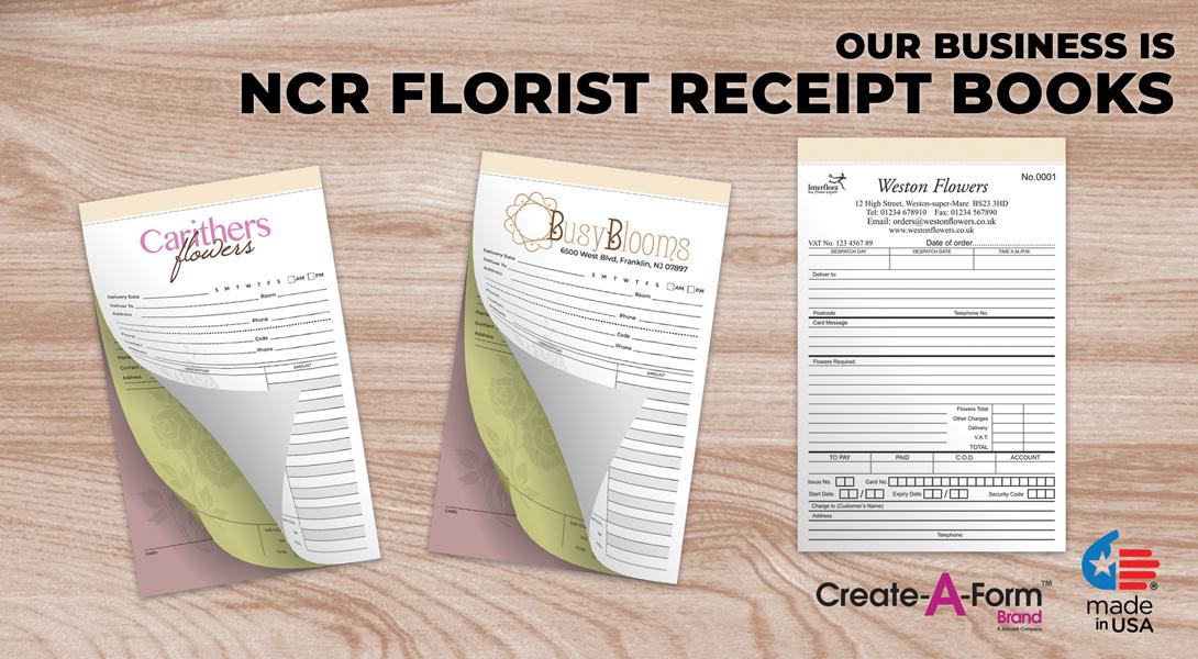 Florist invoices