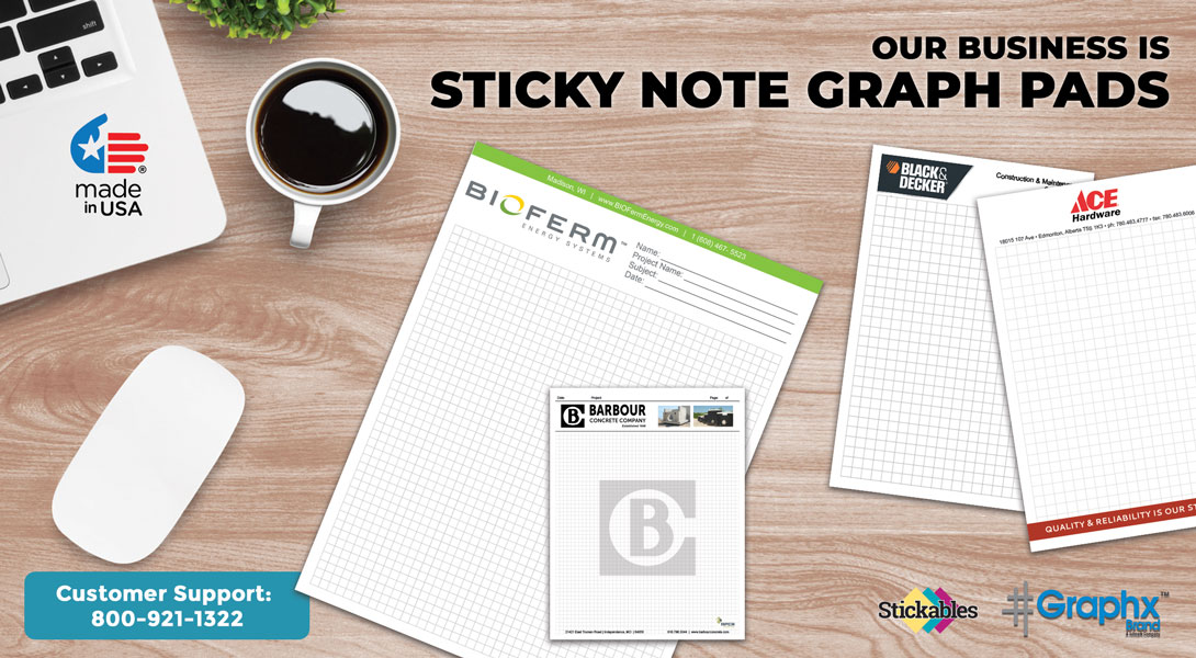Grid Pad Sticky Notes