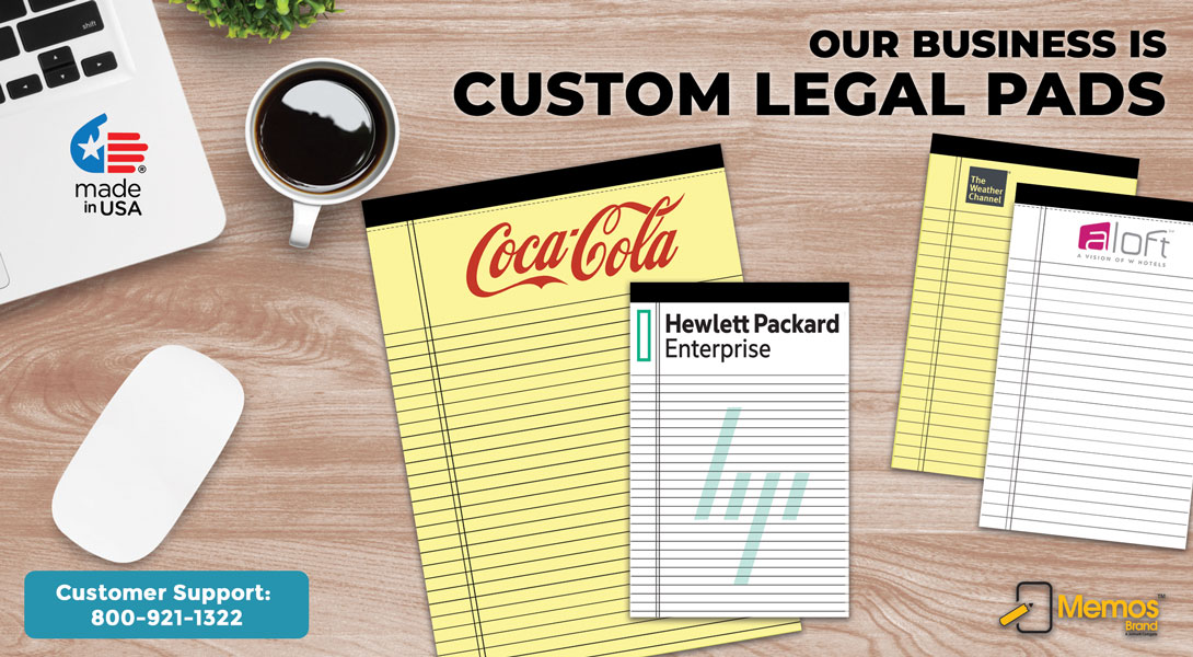 legal pads custom