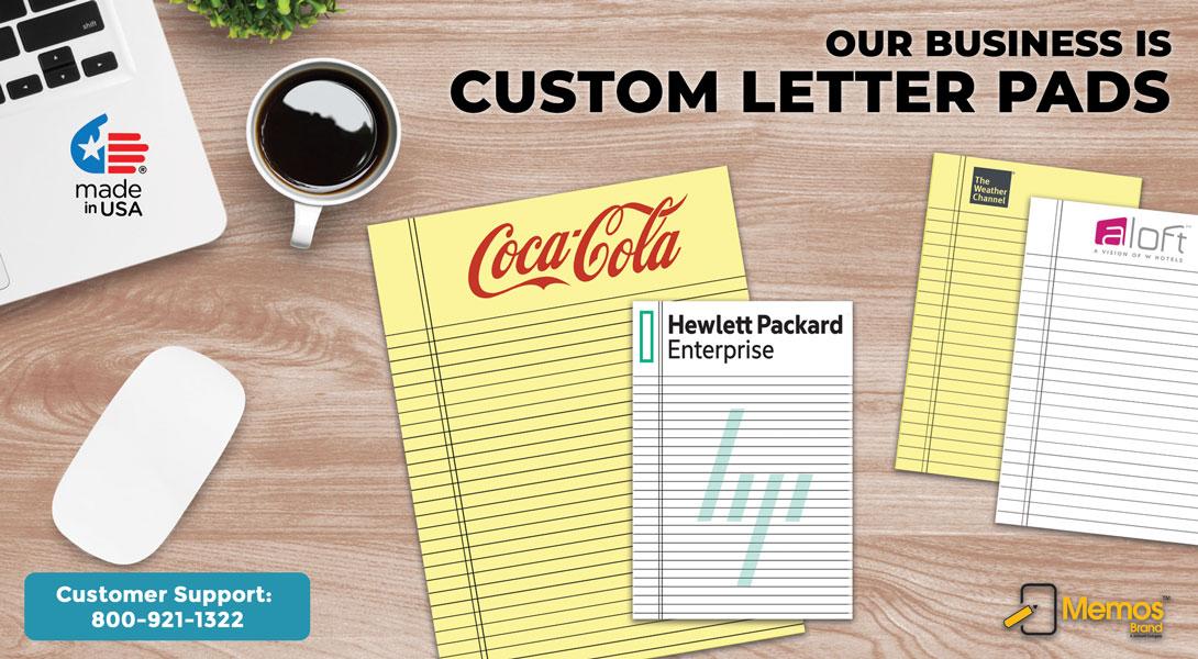 Custom Letter Pads Printing