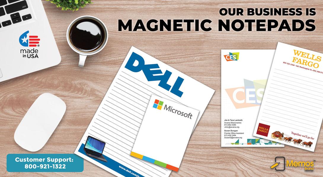 custom magnetic notepad for fridge