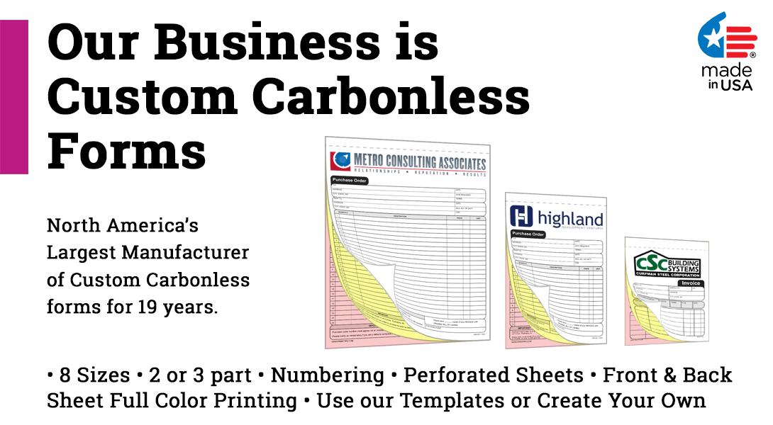 create your own carbonless form