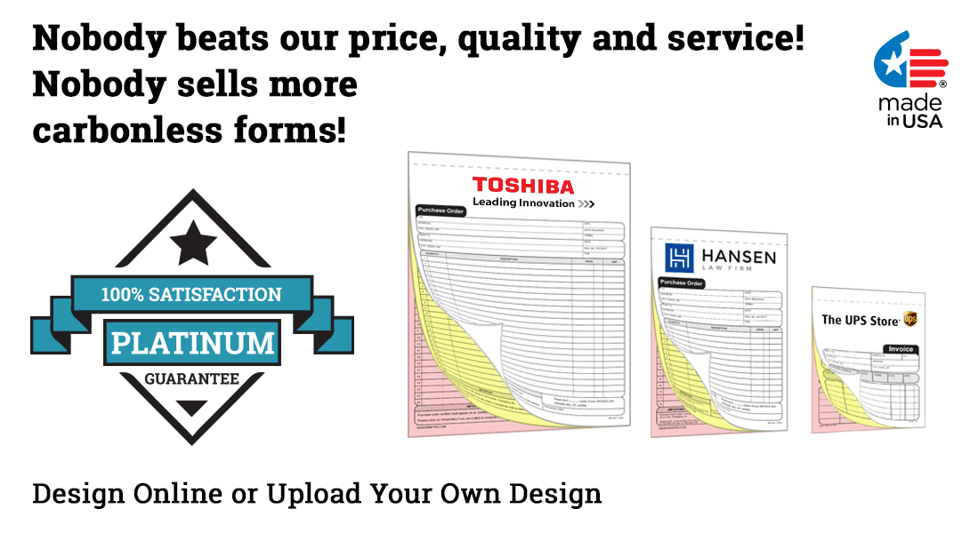 design your own carbonless forms
