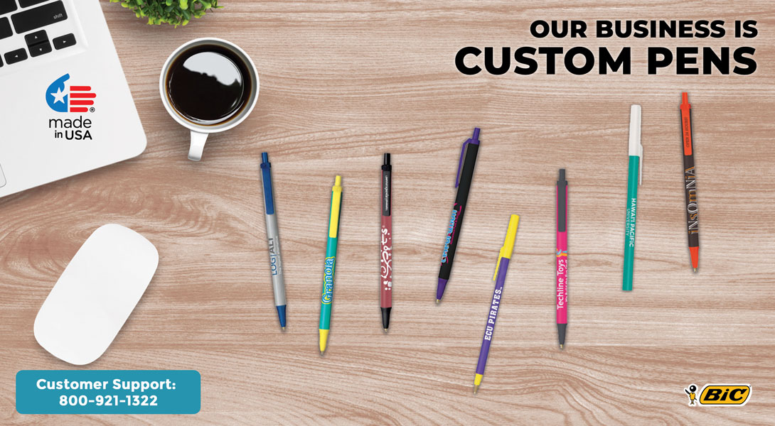 Custom Bic Pens