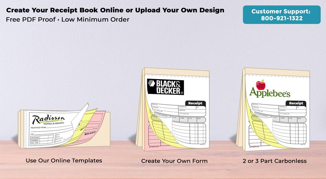 ncr carbonless receipt books single book printpps com